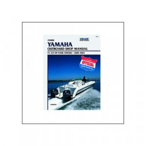 Yamaha 75-225 HP Four-Stroke Outboards (00-03) - Werkstatthandbuch