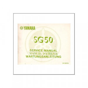 Yamaha SG 50 - Wartungsanleitung