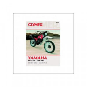 Yamaha XT 125 / 200 / 250 (80-84) - Repair Manual