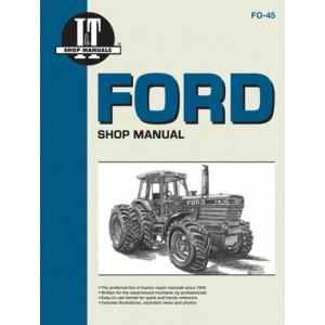 Ford TW-5 / TW-15 / TW-25 / TW-35 Shop Service Manual