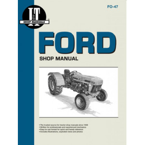 Ford 3230, 3430, 3930, 4630, 4830 Shop Service Manual