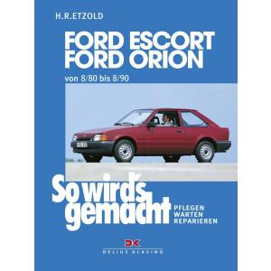 Ford Escort / Ford Orion Reparaturanleitung Delius 37 So wirds gemacht