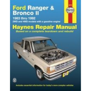 Ford Ranger and Bronco II (83 - 92) - Repair Manual Haynes