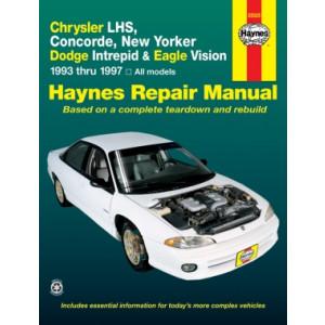 Chrysler New Yorker, Concorde / Dodge Intrepid, Eagle Repair Manual