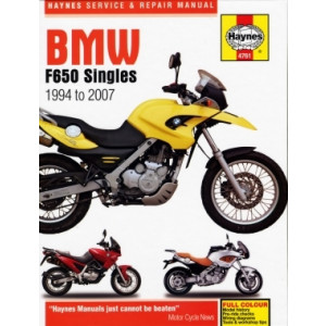 BMW F650 (94-07) - Repair Manual Haynes