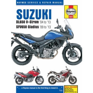 Suzuki DL650 V-Strom, SFV650 Gladius (04-13) - Repair Manual Haynes