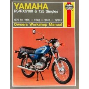 Yamaha RS/RXS100 & 125 Singles (74 - 95) - Repair Manual Haynes