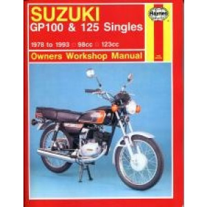 Suzuki GP100 & 125 Singles (78 - 93) - Repair Manual Haynes
