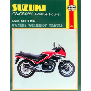 Suzuki GS/GSX550 4-valve Fours (83-88) Repair Manual Haynes