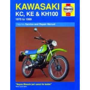 Kawasaki KC, KE and KH100 (81 - 99) Repair Manual Haynes