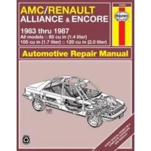 AMC Alliance / Encore (83-87) - Repair Manual Haynes