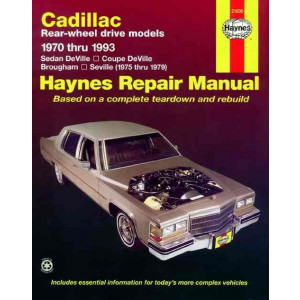 Cadillac RWD Petrol (70-93) Repair Manual Haynes