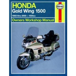 Honda Gold Wing 1500 (88 - 00) - Repair Manual Haynes