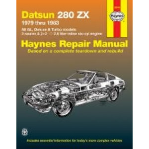 Datsun 280ZX Repair Manual Haynes