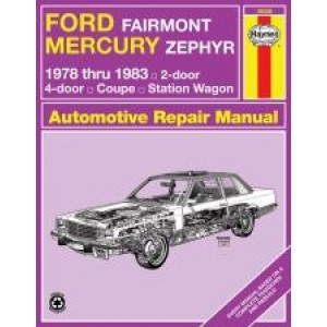 Ford Fairmont Repair Manual Haynes