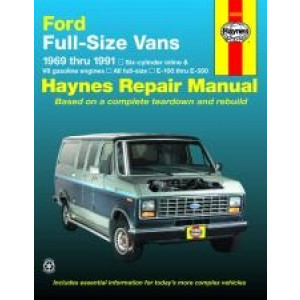 Ford Vans Repair Manual Haynes