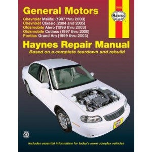 Chevrolet Malibu (97 - 03) - Repair Manual Haynes