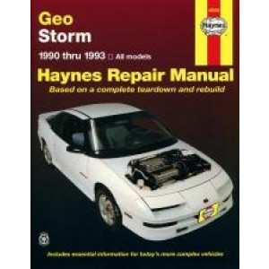 Geo Storm Repair Manual Haynes