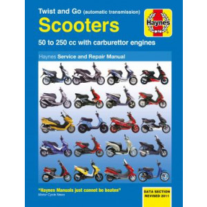 Automatic Transmission Scooters 50cc - 250cc (Twist and Go) Repair Manual Haynes