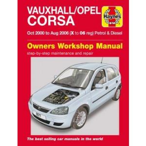 Vauxhall /Opel Corsa (00-06) Repair Manual Haynes