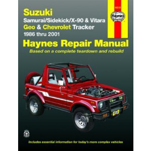 Chevrolet Tracker Repair Manual Haynes