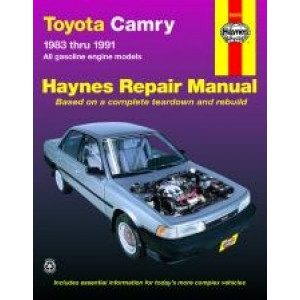 Toyota Camry (83 - 91) - Repair Manual Haynes