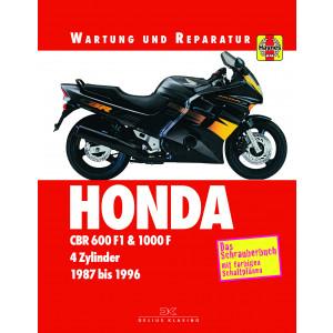Honda CBR 600 F1 /  CBR 1000 F Reparaturanleitung Schrauberbuch