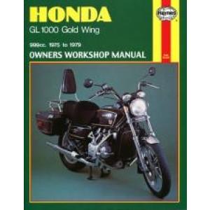 Honda GL1000 Gold Wing (75 - 79) - Repai Manual Haynes