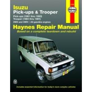 Isuzu Trooper and Pick-up (81 - 93) - Repair Manual Haynes