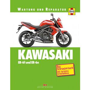 Kawasaki ER 650 / EZ 650 ER-6 F / N Reparaturanleitung