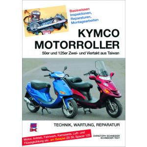 Kymco 50 / 125 ccm Zwei- und Viertakt Motorroller Reparaturanleitung
