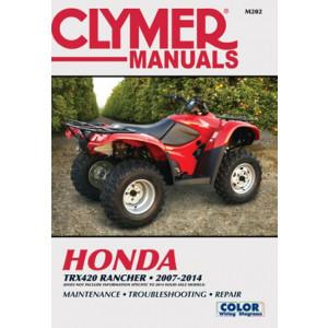 Honda TRX420 Rancher ATV (07-14) Clymer Repair Manual