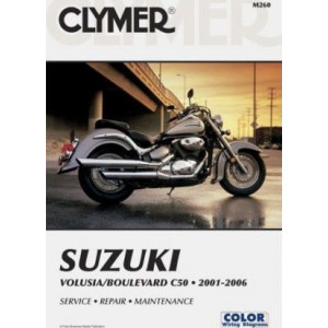 Suzuki Volusia Boulevard C50 (01-06) Clymer Repair Manual