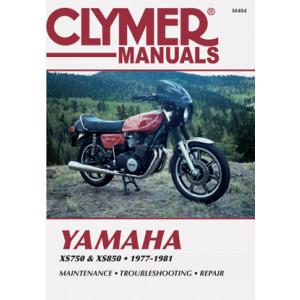 Yamaha XS750 & XS850 (77-81) Clymer Repair Manual