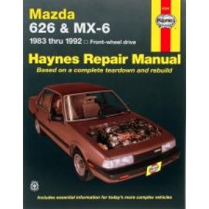 Mazda 626 and MX-6 (FWD) (83 - 92) - Repair Manual Haynes