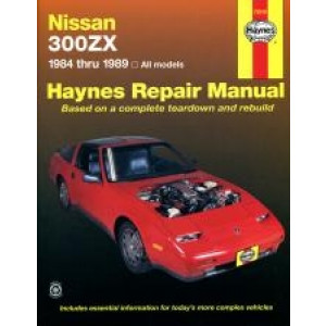 Nissan 300ZX Turbo and non-Turbo models (84 - 89) - Repair Manual Haynes
