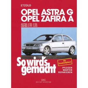 Opel Astra G / Zafira A Reparaturanleitung Delius 113 So wird`s gemacht