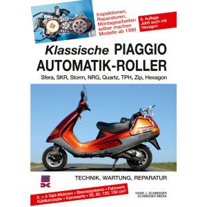 PIAGGIO Sfera / SKR / Storm / NRG / Quartz / TPH / Zip Roller Reparaturanleitung