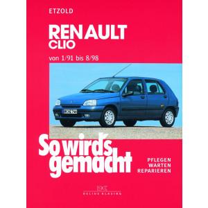 Renault Clio Reparaturanleitung Delius 76 So wird`s gemacht