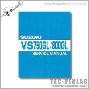Suzuki VS 750 GL VS 800 GL (86-09) - Werkstatthandbuch