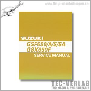 Suzuki GSF 650 (07-08) - Werkstatthandbuch
