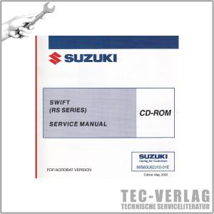 Suzuki Swift Sport (05-10) - Wartungsanleitung