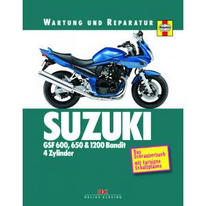 Suzuki GSF 600 / 650 / 1200 / Bandit  Reparaturanleitung Delius So wird`s gemacht