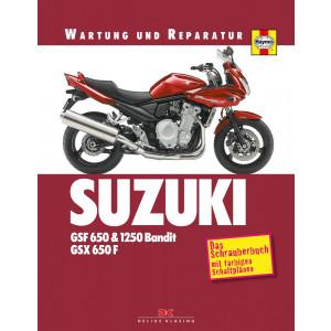 Suzuki GSF 650 / 1250 Bandit / GSX 650 F  Reparaturanleitung Schrauberbuch