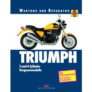 TrTriumph 750 / 900 / 1000 / 1200 (91-99) - Reparaturanleitung Schrauberbuch