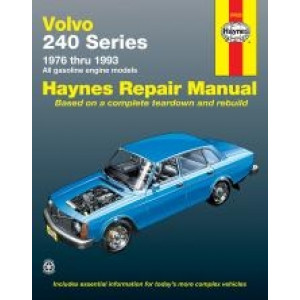 Volvo 240 Series (76 - 93) - Repair Manual Haynes