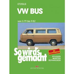 VW Bus T3 Reparaturanleitung Delius 24 So wirds gemacht