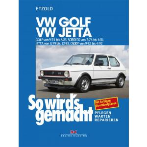 VW Golf / VW Jetta / VW Scirocco / VW Caddy Reparaturanleitung So wird`s gemacht