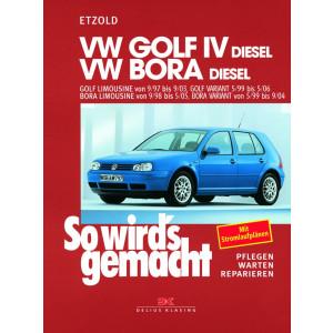 Golf IV / VW Bora Diesel Reparaturanleitung Delius 112 So wird`s gemacht