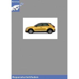 VW T-Roc Karosserie Montagearbeiten Innen - Reparaturanleitung